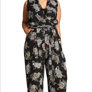Floral jumpsuit from Nordstrom - beautiful!